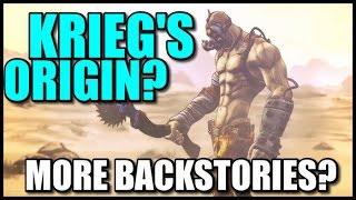getlinkyoutube.com-Borderlands The Pre-Sequel: More Backstories and Krieg's Origin?