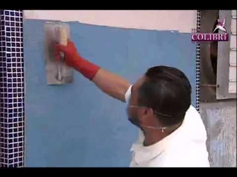 Instalacion Mosaico Veneciano Metodo capa delgada - COLIBRIMTY