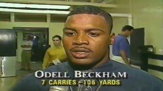 Fourth Down on Four WWL TV CH4 Sept27 1992 New Orleans