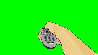 getlinkyoutube.com-Animated Hand and Remote Control ~ Green Screen