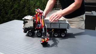 getlinkyoutube.com-LEGO Technic Mercedes-Benz Arocs 3245 Functions