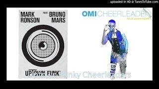 getlinkyoutube.com-Uptown Funky Cheerleaders (Mark Ronson feat. Bruno Mars and Omi Mashup by Mash It Up!)