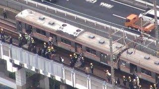 京葉線、車両トラブルで停止