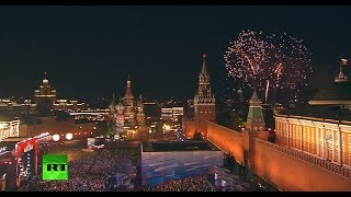 FIFA WorldCup opening gala concert in Moscow