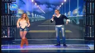 getlinkyoutube.com-Celebrity Duets 3 - Mario Bassil  & Jessy Abdo - Prime 10