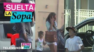 getlinkyoutube.com-Suelta La Sopa | Wiliam Levy y Elizabeth Gutiérrez llegan separados a ver a su hijo| Entretenimiento