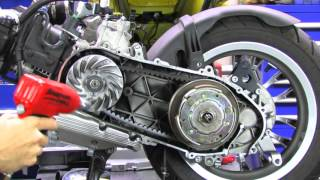getlinkyoutube.com-Malossi Variator Kit for Vespa Sprint/Primavera