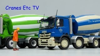 getlinkyoutube.com-Conrad MB Actros Liebherr HTM 1204 Mixer 'Christen' and 'Kibag' by Cranes Etc TV