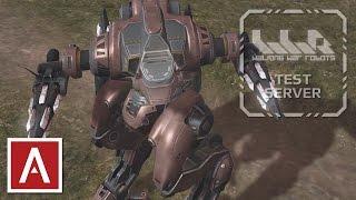 getlinkyoutube.com-War Robots 2017 - NEW Improved Jesse + Gameplay [iOS Test Server 2.5.0.211]