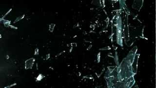 Free Slow Motion Footage: Slingshot Broken Glass