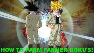 getlinkyoutube.com-Dokkan Battle: HOW TO FARM FARMER GOKU CARDS! (Global)