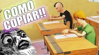 getlinkyoutube.com-COMO COPIAR EN UN EXAMEN !! - Highschool 101 | Fernanfloo