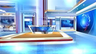 getlinkyoutube.com-free virtual news studio background red and blue HD