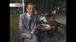 Garry Kasparov on CNN with Richard Quest