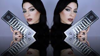 getlinkyoutube.com-Kat Von D Metal Matte Palette | Jewel Toned Green Eyes Tutorial