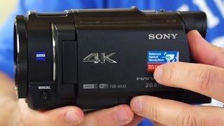 getlinkyoutube.com-Sony FDR-AX33 4K (UHD) Camcorder Review. Plus Sample Video