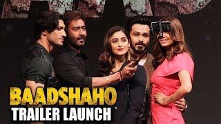 Baadshaho का पूरा Trailer Launch | Ajay Devgn, Ileana D'Cruz, Emraan Hashmi, Esha Gupta