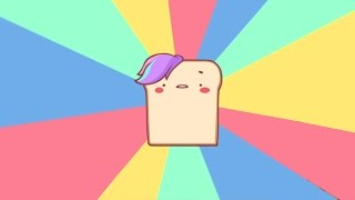 DELICIOUS TOAST - I am Bread Animated width=