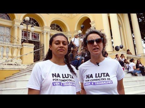 Vídeo: Paralisação dos servidores municipais