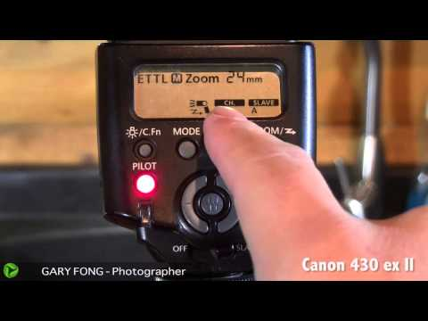 Extremely Detailed Guide For Canon Wireless Flash