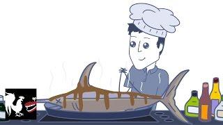 getlinkyoutube.com-Chris Cooks Fish - Rooster Teeth Animated Adventures