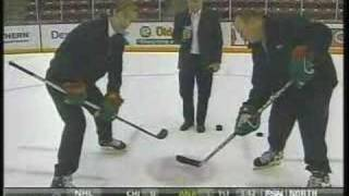 getlinkyoutube.com-Woog and Hendrickson on hockey faceoffs