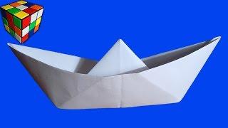 getlinkyoutube.com-Кораблик из бумаги. Как сделать кораблик оригами из бумаги! Поделка от Детский Мир