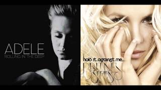 getlinkyoutube.com-Britney Spears VS Adele - The Rolling World Ends In The Deep [Mashup]