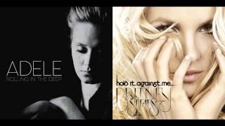 getlinkyoutube.com-Britney Spears VS Adele - The Rolling World Ends In The Deep [Mashup]