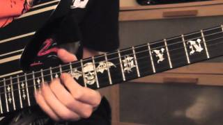 "Avenged Sevenfold - ""Save Me"" Guitar Solo"