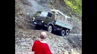 getlinkyoutube.com-The most dangerous Roads in Tusheti 2009 (Georgia)