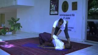 Celebration de la 1ere Journee Internationale du Yoga, ce 21 juin 2015