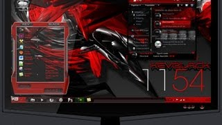 getlinkyoutube.com-El mejor tema Red Black Full Glass para Windows 7