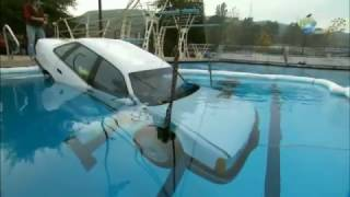 getlinkyoutube.com-Can Adam Escape a Sinking Car? | MythBusters