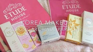 getlinkyoutube.com-Korean Makeup And Skincare Haul♥Etude House Products♥
