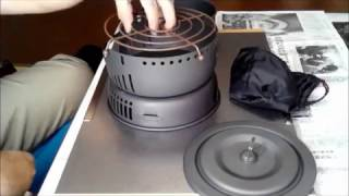 getlinkyoutube.com-alocs cw c05 ガス化計画 串揚げ編 I was able to use alocs cw-c05 in a gas burner