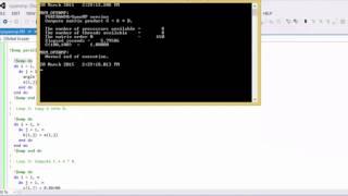 Fast Matrix Multiply Fortran Program Using OpenMP