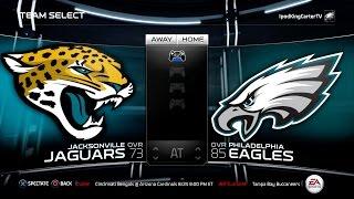 getlinkyoutube.com-MADDEN NFL 15 PS4 Full Gameplay: Jaguars vs Eagles - Week 1 NFL Regular Season Matchup Simulation