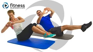 getlinkyoutube.com-24 Minute At Home Abs Workout - Ab Blasting Interval Workout