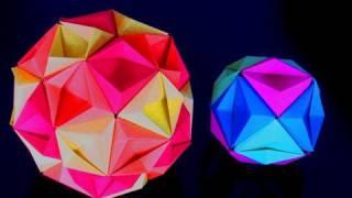 getlinkyoutube.com-Re: How to make an Origami Kusudama