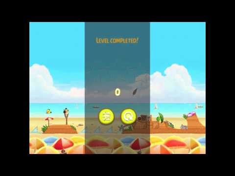 Angry Birds Rio Trophy Room Beachball Walkthrough 3 Star