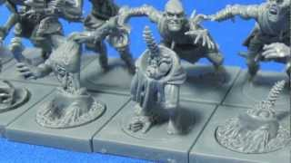 getlinkyoutube.com-Mantic Zombies and Ghouls on the Sprue (Gravestalker combo)