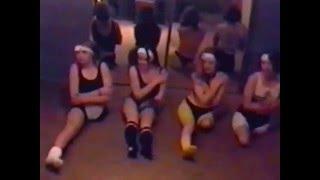 getlinkyoutube.com-12345 five different female amputees with a leg mputation doing aerobic