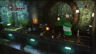 getlinkyoutube.com-Lego City Undercover [Part 21] - Ninja Turtle Sewers and Explosive Air Mattresses!