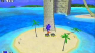 getlinkyoutube.com-Sonic Adventure DX Director's Cut Game Sample - GameCube