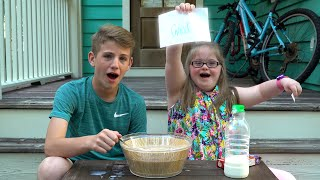 getlinkyoutube.com-Weird Cereal Challenge!  (MattyBRaps vs Sarah Grace)