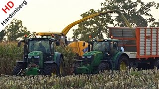 getlinkyoutube.com-Harvesting mais in extreme mud | New Holland FR9050 | Extreem modderen | Hofmeijer | NL.