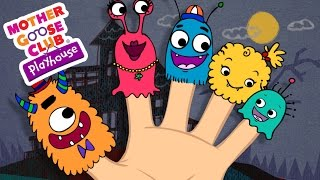 getlinkyoutube.com-Halloween Songs | Finger Family | Monster Finger Family | Mother Goose Club Playhouse Kids Song