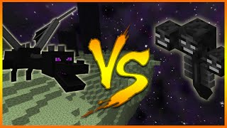 getlinkyoutube.com-Minecraft: (Xbox360/PS3) HOW TO SPAWN THE WITHER BOSS IN THE END! WITHER Vs ENDER DRAGON!