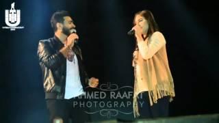 getlinkyoutube.com-Tamer Hosny& Yasmina - تامرحسني & ياسمينا - لو خايفه